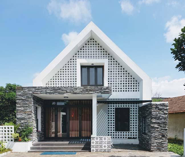 Mẫu biệt thự 1 tầng đẹp thiết kế hiện đại tại Đồng Hới thumbnail