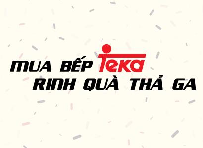 Mua bếp Teka – Rinh quà thả ga thumbnail