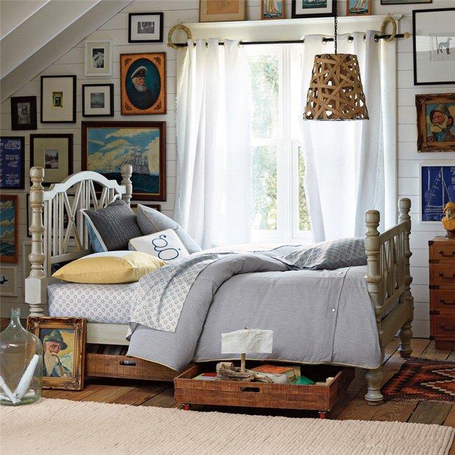 Sắp xếp đồ đạc dưới gầm giường trong phòng ngủ nên hay không nên? thumbnail