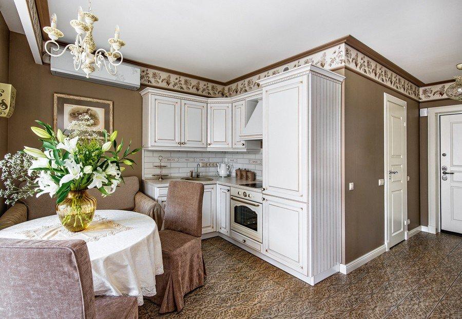 Thiết kế nội thất căn hộ chung cư cao cấp theo phong cách tân cổ điển (P.2) thumbnail