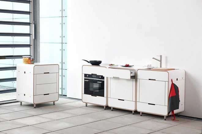 Thiết kế phòng bếp nhỏ tiện dụng ai nhìn cũng thích thumbnail