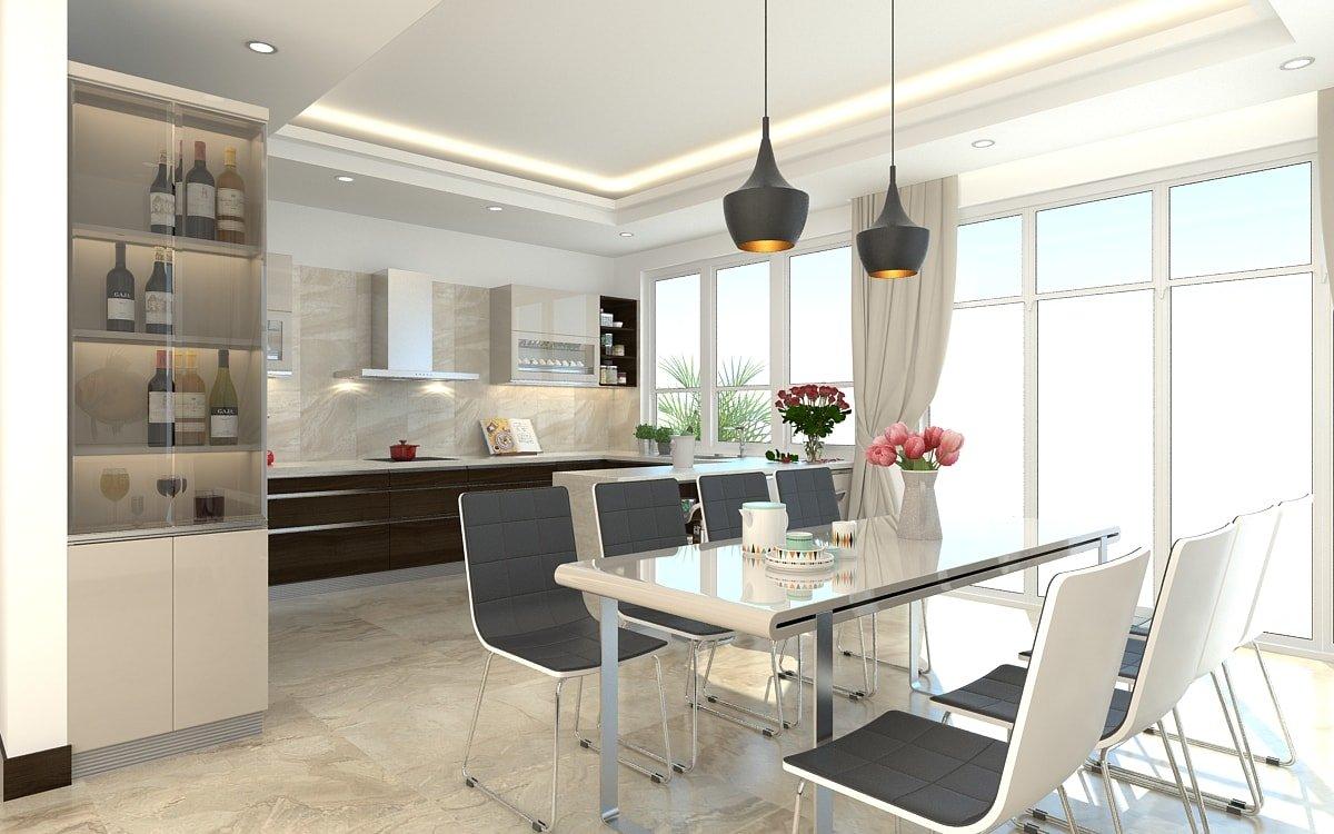 Top 10 mẫu thiết kế phòng bếp hiện đại với dàn nội thất sang chảnh post image