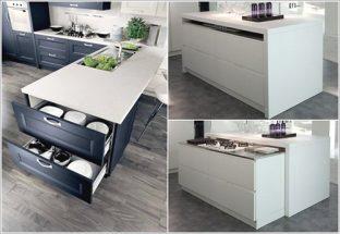 Trang trí phòng bếp hiện đại giấu gọn mọi thứ trong bếp thumbnail