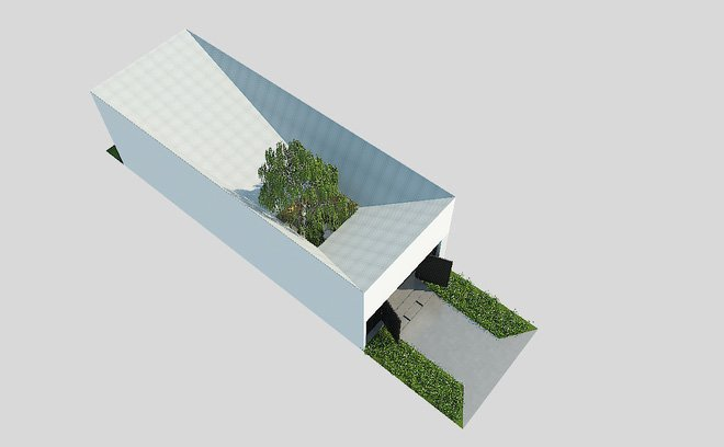 Tư vấn thiết kế nhà ống 1 tầng 52m2 chi phí dưới 200 triệu post image