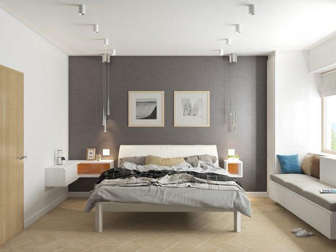 Xu hướng thiết kế nội thất phòng ngủ gam màu xám rất Tây năm 2018 thumbnail