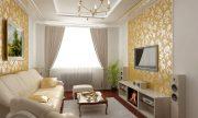 10 mẫu trần thạch cao đẹp cho phòng khách nhà ống thumbnail