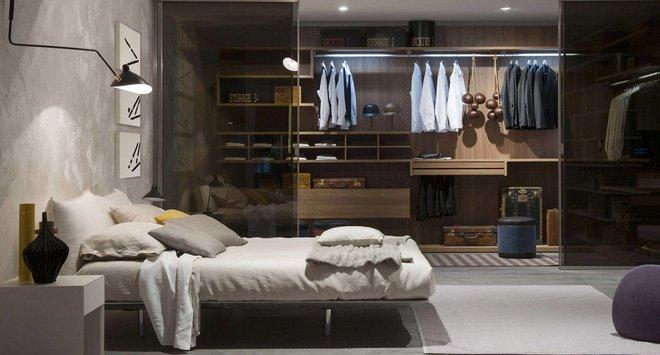 19 mẫu thiết kế phòng ngủ kết hợp tủ quần áo đẹp cực và hiện đại thumbnail
