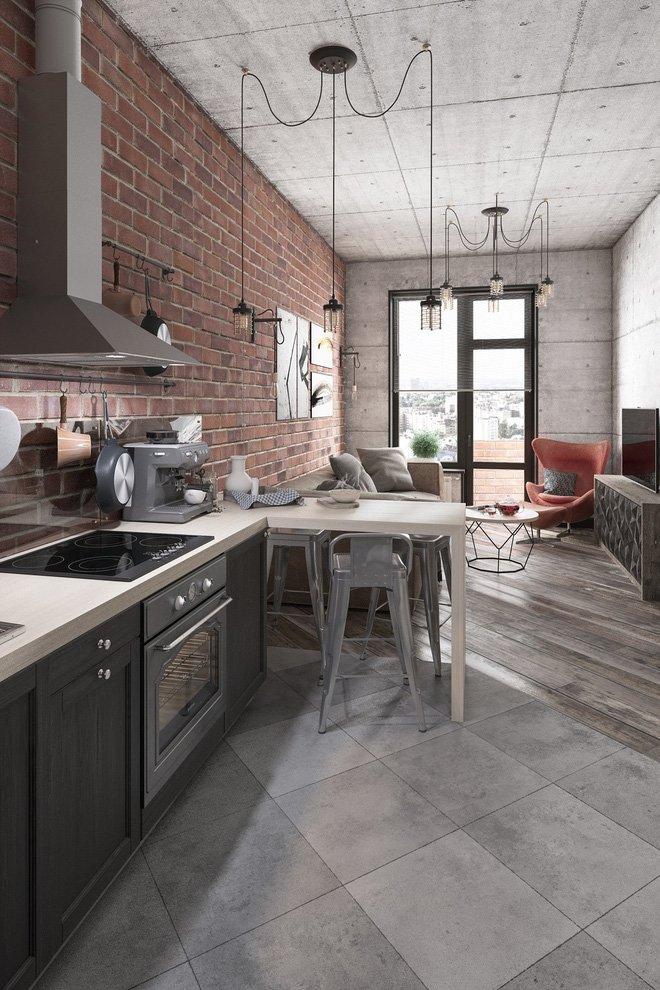 2 mẫu thiết kế căn hộ nhỏ 35m2 cho nội thất thông minh màu sắc mộc mạc post image