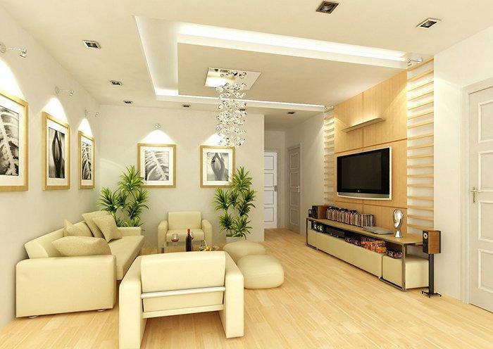 Bộ sưu tập 15 trần phòng khách nhà ống HOT NHẤT năm 2018 post image