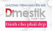Chương trình khuyến mãi Dmestik tháng 10 thumbnail