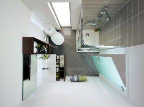 Điểm nhấn thông minh cho phòng tắm đẹp diện tích nhỏ
