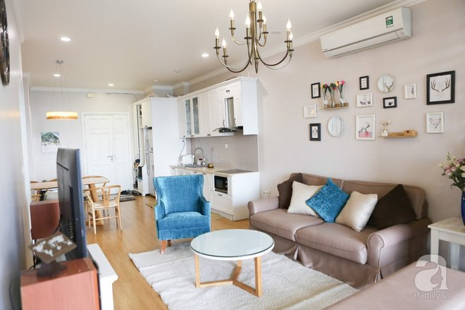 Mẫu thiết kế căn hộ chung cư 90m2 đẹp ngẩn ngơ tại Từ Liêm Hà Nội thumbnail