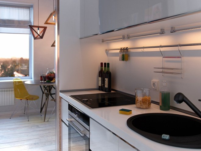 """Mẫu thiết kế căn hộ nhỏ 30m2 đẹp cá tính hiện đại """"HỐT HỒN"""" người thumbnail"""
