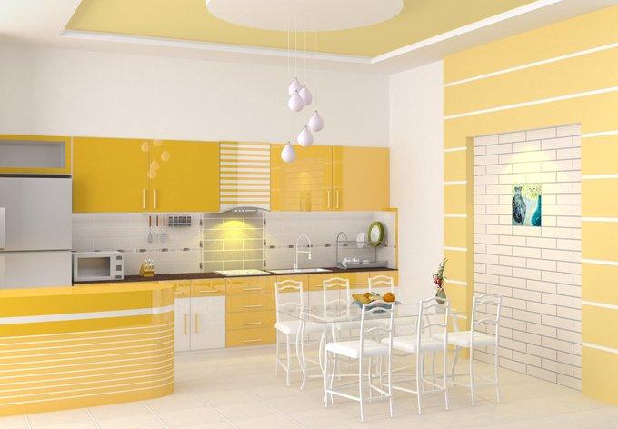 Mẹo làm đẹp không gian bếp giúp tăng chiều sâu và mềm không gian post image