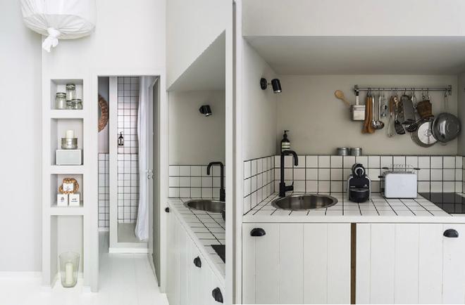 Ngạc nhiên với cách trang trí nội thất căn hộ chung cư nhỏ đẹp mộc mạc thumbnail