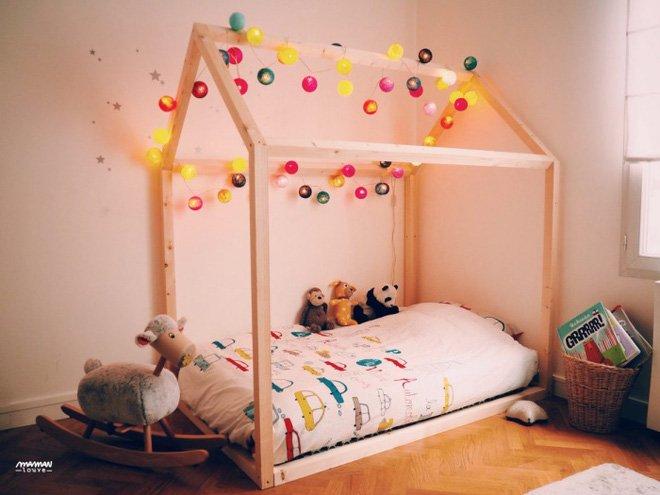 Thiết kế giường gác mái cho nội thất phòng ngủ trẻ em đẹp lung linh thumbnail