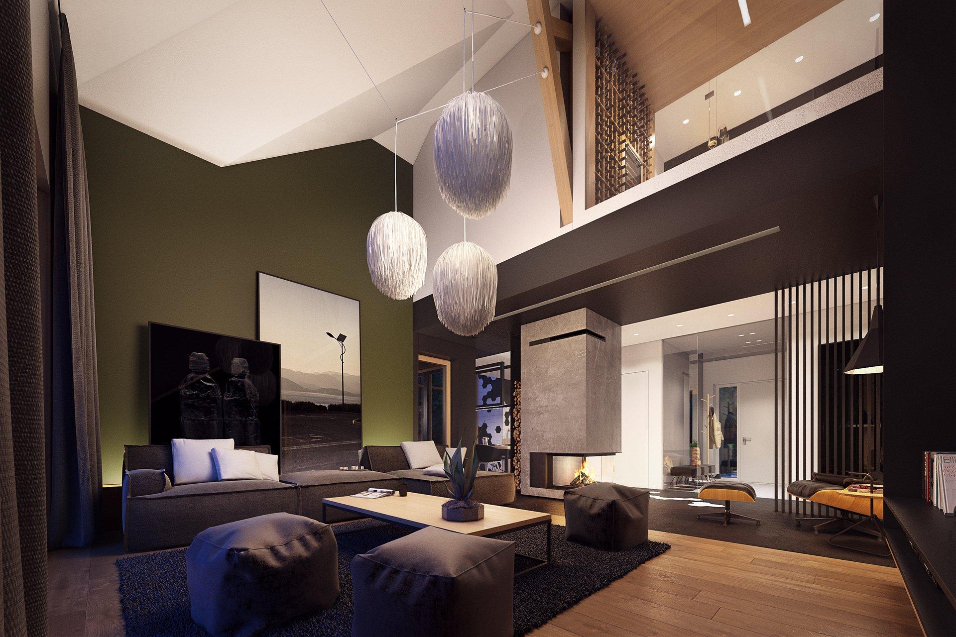 Thiết kế nội thất biệt thự hiện đại sang chảnh với gam màu socola thumbnail