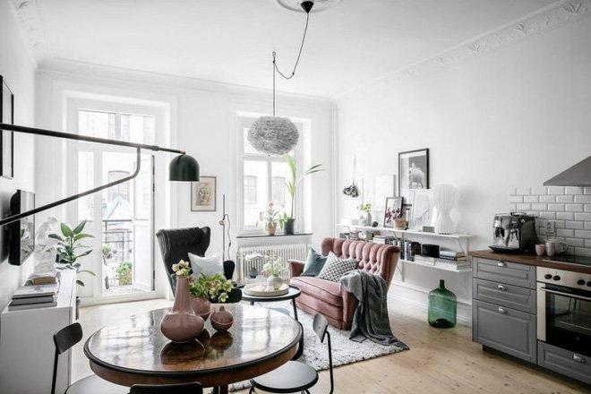 Thiết kế nội thất chung cư diện tích nhỏ đẹp xuất sắc đến từng chi tiết post image