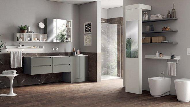"""11 mẫu thiết kế nội thất phòng tắm """"MỚI LẠ, ĐỘC ĐÁO"""" không thể bỏ qua post image"""