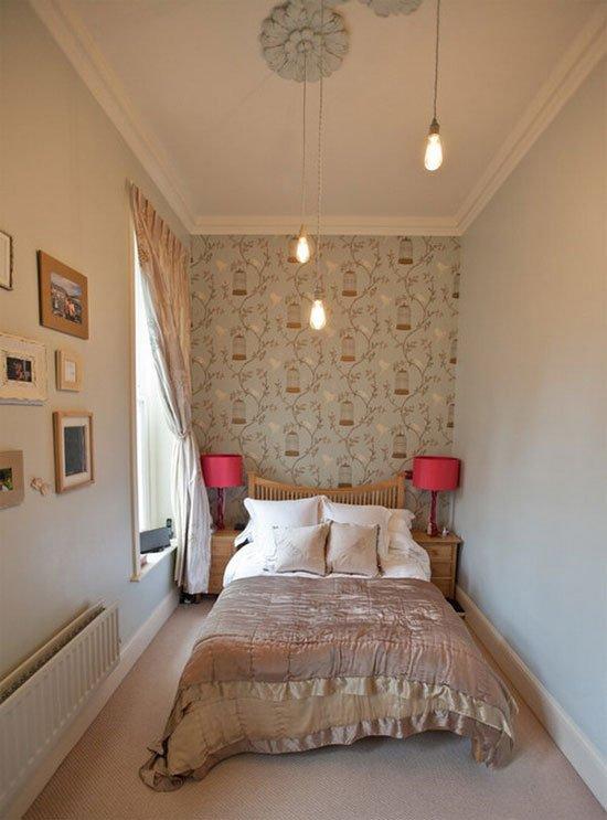Diện tích phòng ngủ nhỏ càng đẹp nhờ thiết kế dưới đây