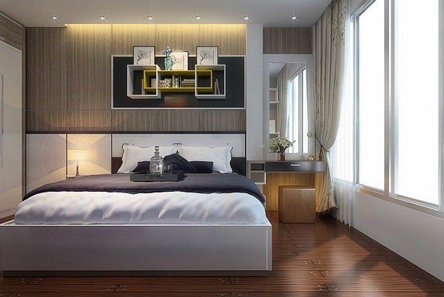 Tư vấn thiết kế nội thất phòng ngủ 16m2 đẹp hút hồn post image