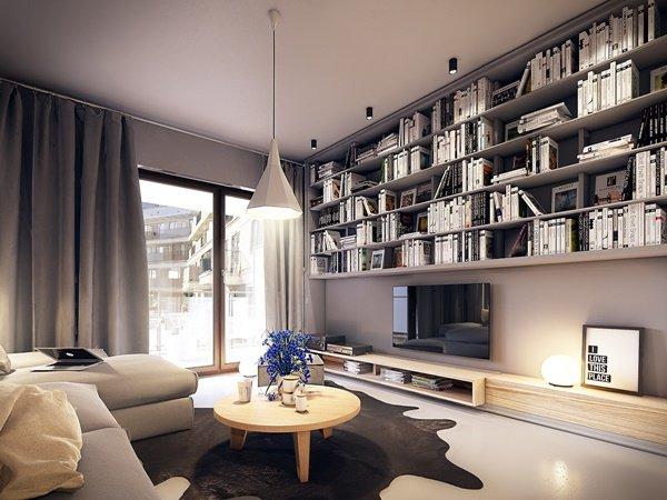 Xu hướng thiết kế phòng khách chung cư cao cấp hiện đại năm 2018 post image