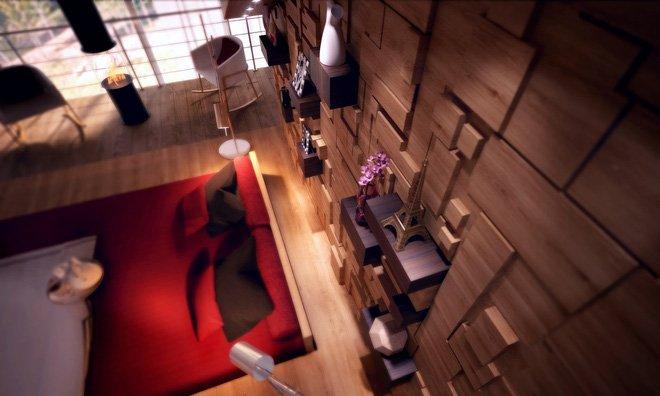 16 mẫu phòng ngủ hiện đại có trang trí đầu giường đẹp mất hồn-11