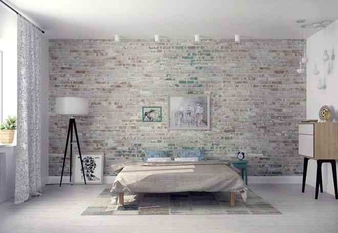 16 mẫu phòng ngủ hiện đại có trang trí đầu giường đẹp mất hồn-14