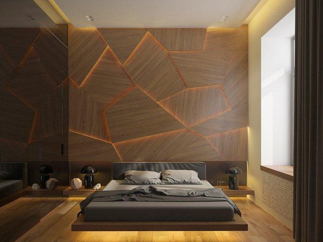 16 mẫu phòng ngủ hiện đại có trang trí đầu giường đẹp mất hồn