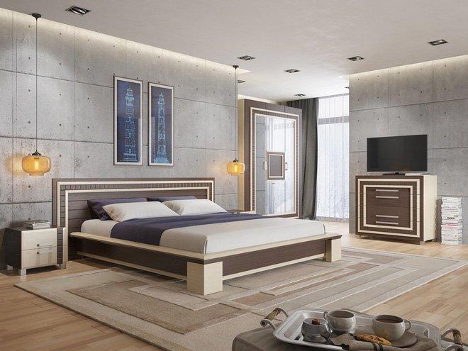 16 mẫu phòng ngủ hiện đại có trang trí đầu giường đẹp mất hồn-7