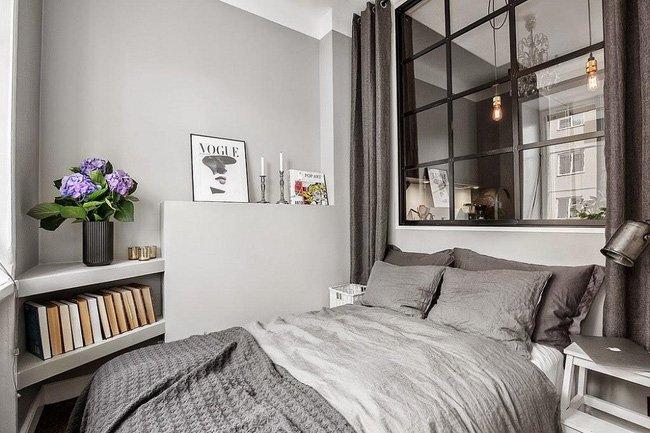 5 mẹo biến thiết kế phòng ngủ nhỏ hẹp trở nên rộng bất ngờ-3