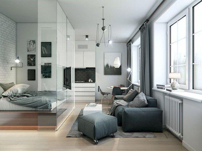 5 mẹo biến thiết kế phòng ngủ nhỏ hẹp trở nên rộng bất ngờ-8