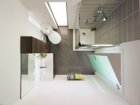 Bộ sưu tập các mẫu nội thất phòng tắm đơn giản mà đẹp năm 2017
