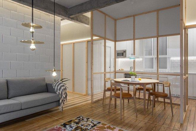 Cách bố trí nội thất thông minh cho căn hộ nhỏ đẹp không vách ngăn post image