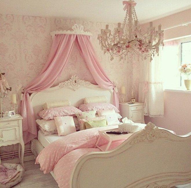 Cách trang trí nội thất phòng ngủ cho bé gái siêu đẹp siêu dễ thương