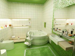 Chọn mẫu gạch ốp lát phòng tắm đẹp cho gia đình