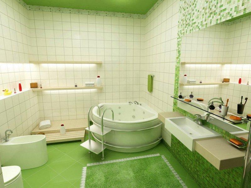 Chọn mẫu gạch ốp lát phòng tắm đẹp cho gia đình post image
