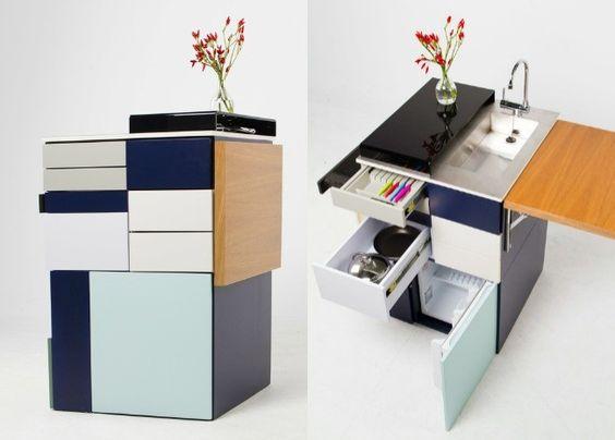 Giải pháp ý tưởng thiết kế nhà bếp nhỏ gọn cực thông minh cực độc lạ post image