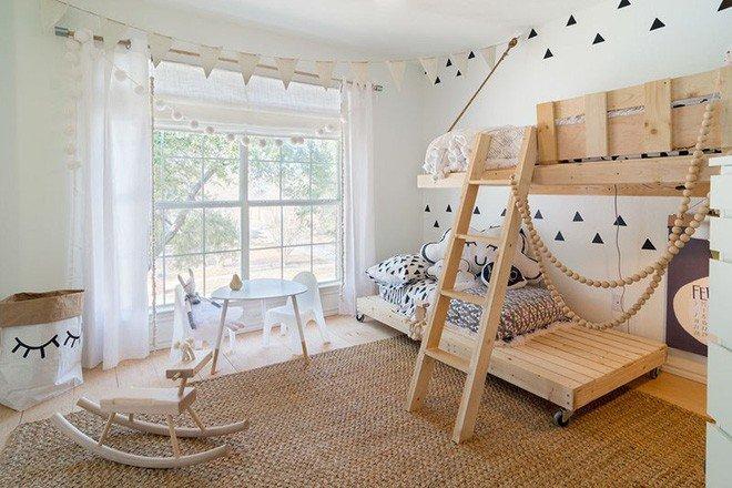 Mẫu trang trí nội thất phòng ngủ trẻ em nào khi đông về bạn quan tâm