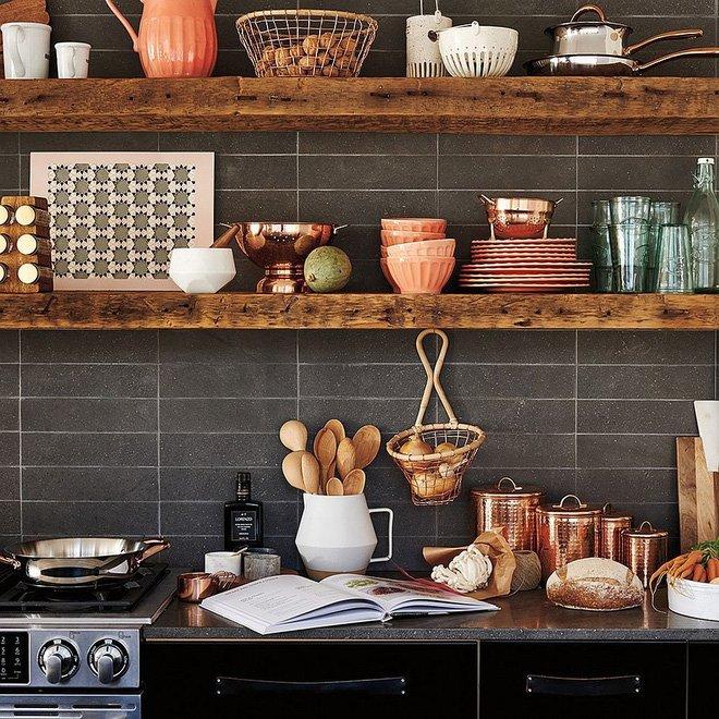 Một vật liệu không thể nào thiếu khi trang trí phòng bếp hiện đại