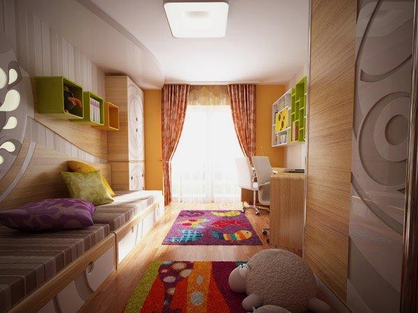 Ngắm thiết kế phòng ngủ cho trẻ em với các vật trang trí đầy màu sắc post image