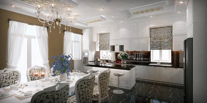 Phòng bếp kết hợp với phòng ăn - Các giải pháp không gian bếp thỏa sức sáng tạo
