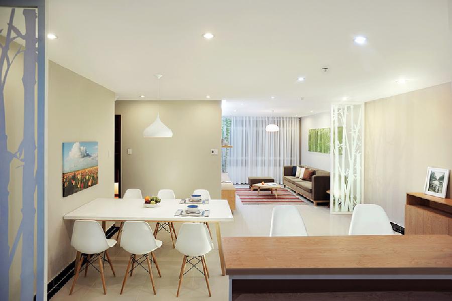 Phòng bếp kết hợp với phòng khách - Các giải pháp không gian bếp thỏa sức sáng tạo-12