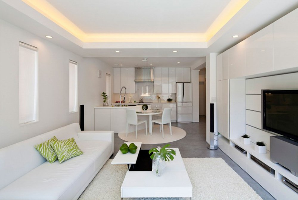 Phòng bếp kết hợp với phòng khách - Các giải pháp không gian bếp thỏa sức sáng tạo-15