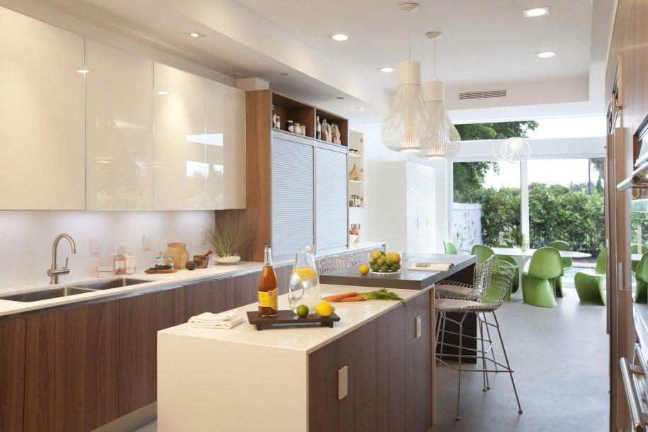 Phòng bếp kết hợp với phòng khách - Các giải pháp không gian bếp thỏa sức sáng tạo-10