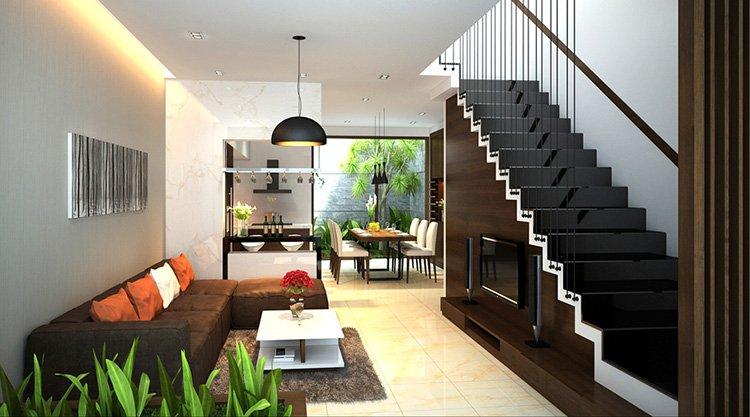 Phòng bếp kết hợp với phòng khách - Các giải pháp không gian bếp thỏa sức sáng tạo-14