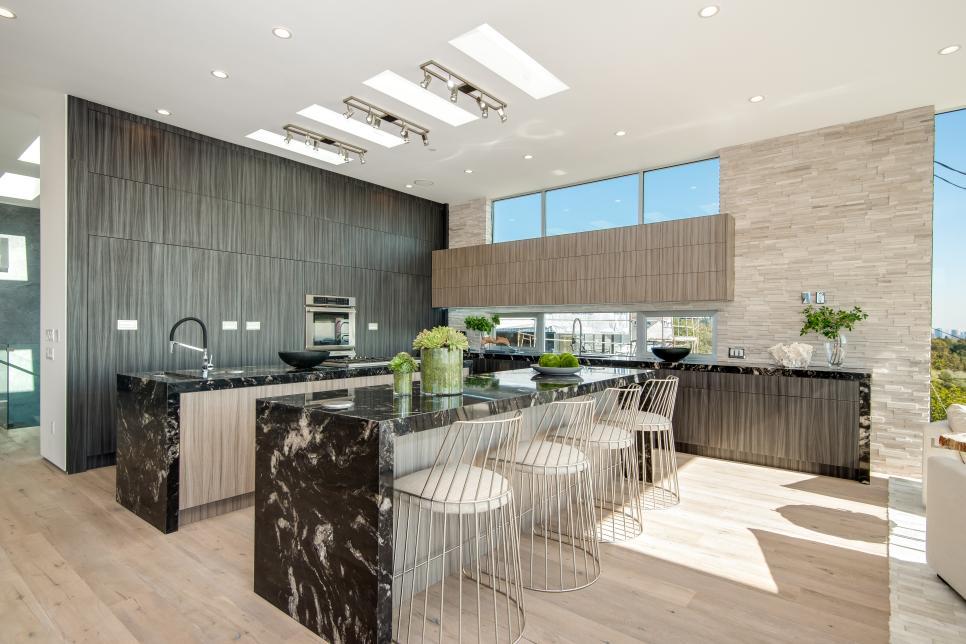 Phòng bếp mở với không gian bên ngoài - Các giải pháp không gian bếp thỏa sức sáng tạo-18