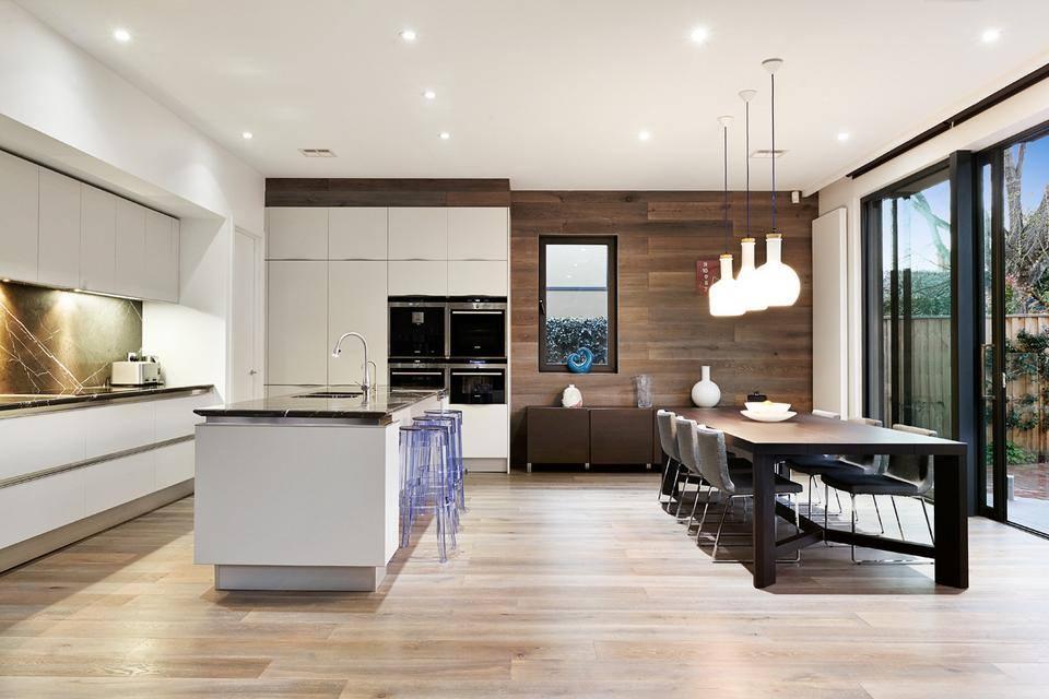Phòng bếp kết hợp với phòng khách - Các giải pháp không gian bếp thỏa sức sáng tạo-20