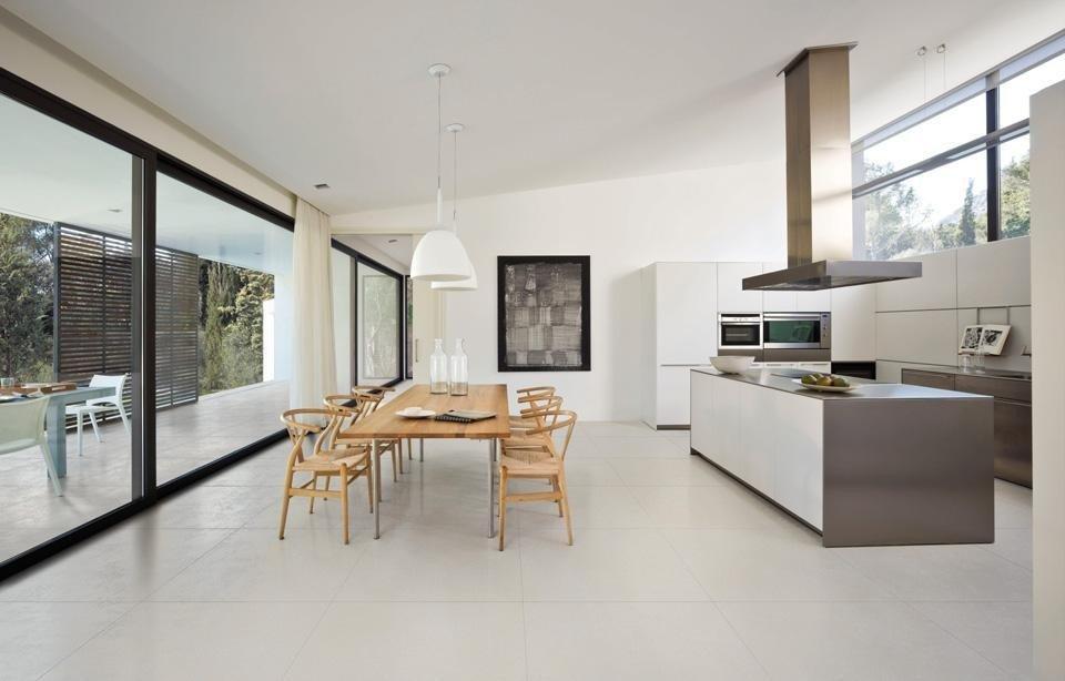 Thiết kế không gian bếp theo phong cách hiện đại