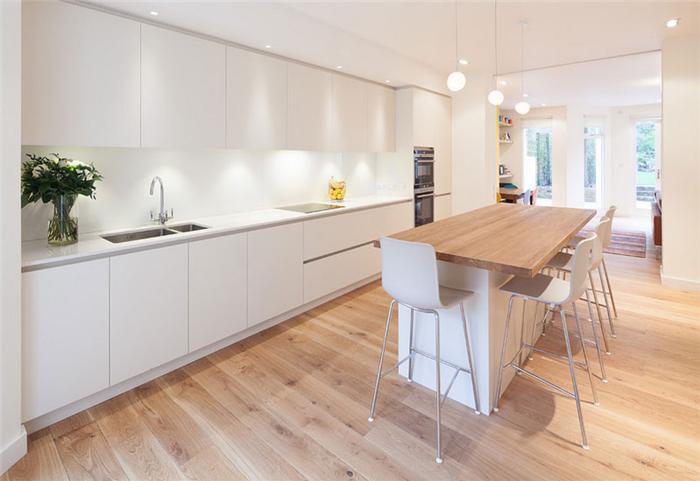 Thiết kế không gian bếp theo phong cách tối giản